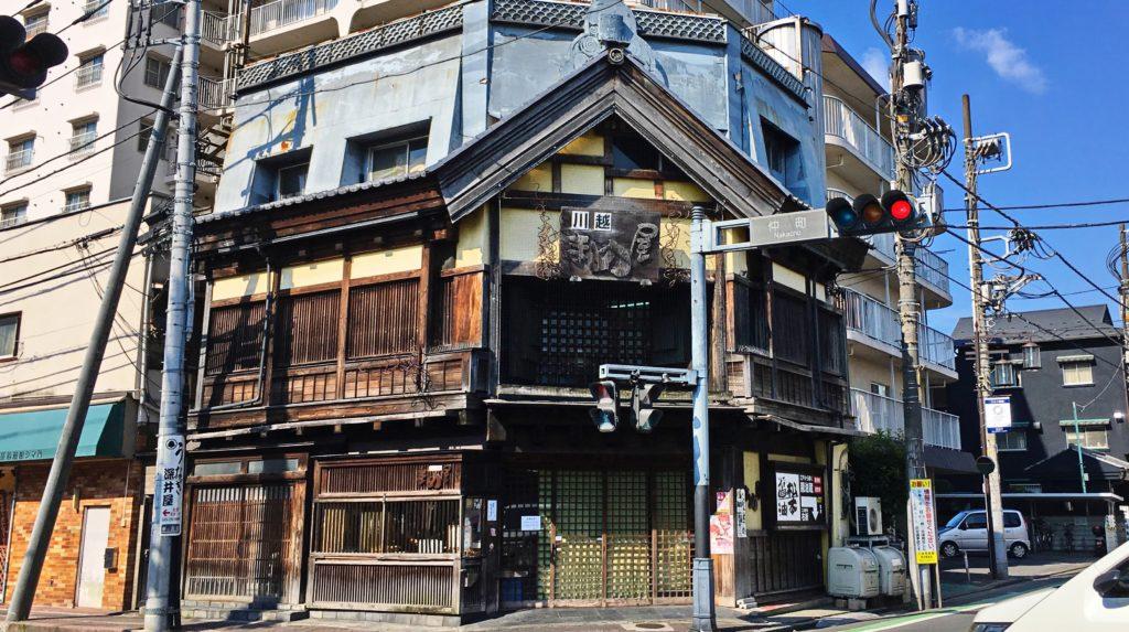 川越一番街の小江戸っぽい建物