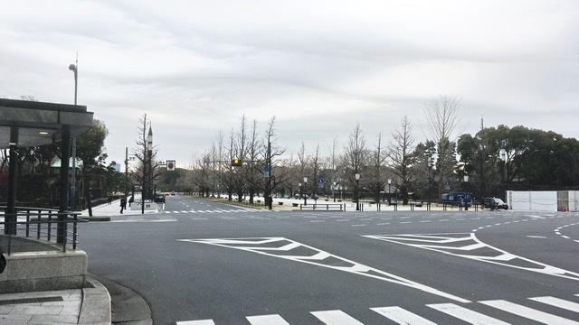 東京マラソンゴール地点