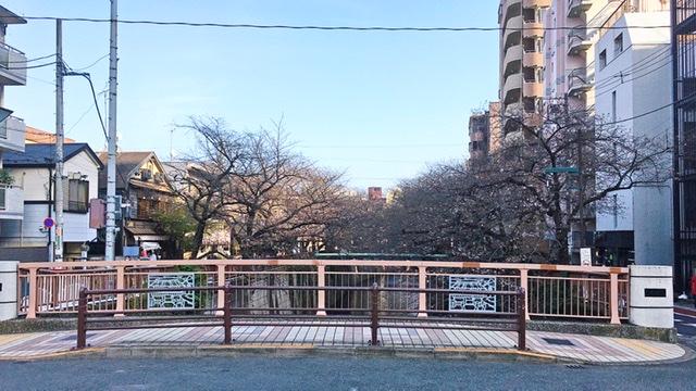中目黒の宿山橋