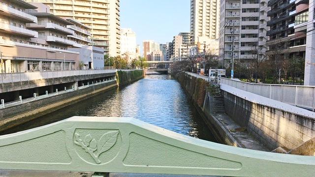不動前駅近くの市場橋