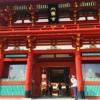 鎌倉の鶴岡八幡宮拝殿