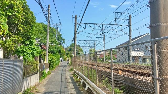 横須賀線線路