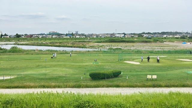 川崎市多摩川緑地パークボール場多摩川うなね パークゴルフコース