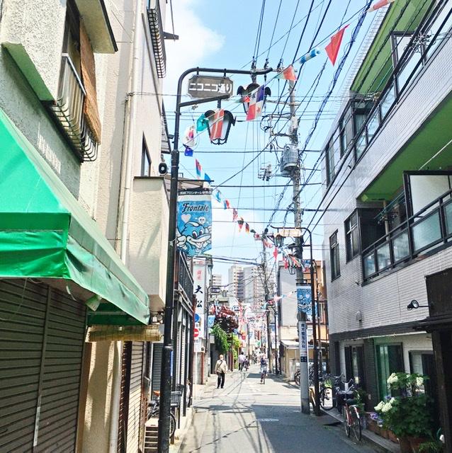 川崎のニコニコ通り