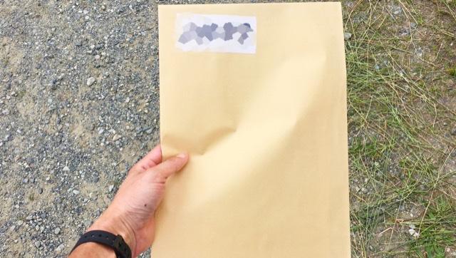 月例川崎マラソン初参加時に渡される茶封筒