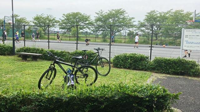 稲城北緑地公園バスケットボールコート