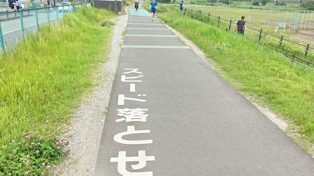 稲城市サイクリングロード