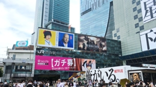 JR渋谷駅ハチ公口外観
