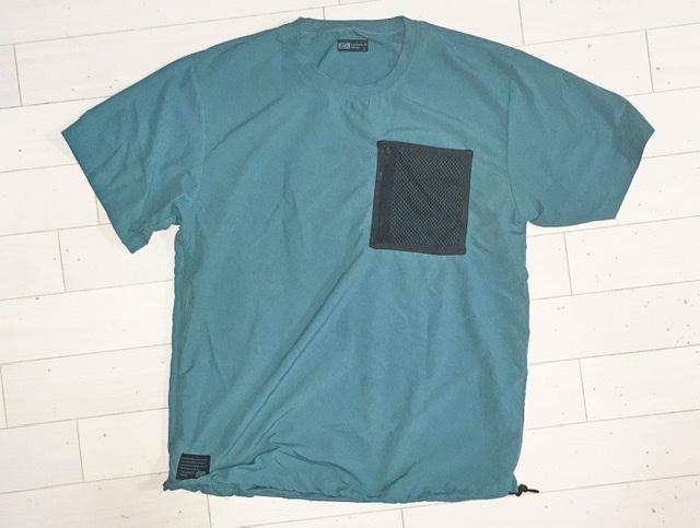 ワークマンの水陸両用Tシャツのフロント全体
