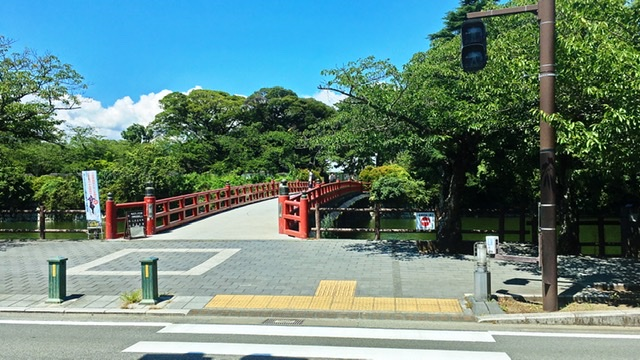 小田原城学橋