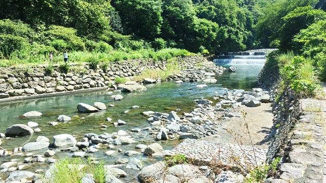箱根湯本の早川