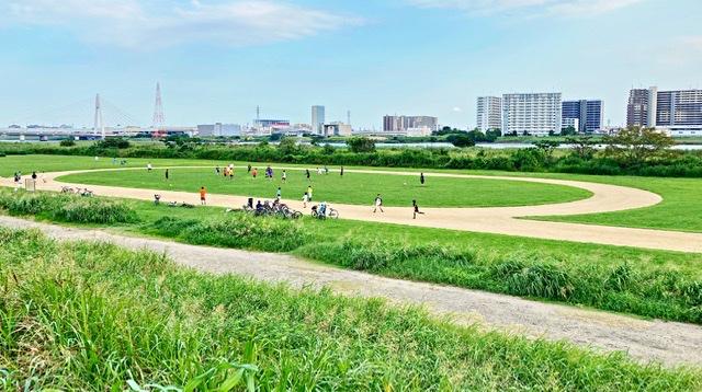 多摩川大師橋緑地陸上トラック
