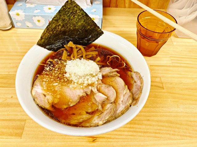 八王子ラーメンびんびん亭チャーシュー麺